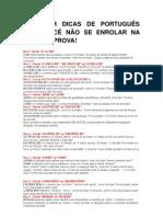 20 SUPER DICAS DE PORTUGUÊS