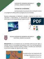 Hhistoria de La Ingenieria