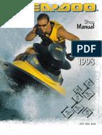 1996 seadoo service manual carburetor tap valve rh scribd com 1995 Seadoo SPX 1996 seadoo spi service manual