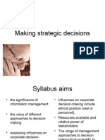 11_Making Strategic Decisions
