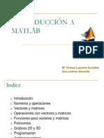 Curso de Introduccion Al Matlab
