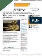 12-03-12 Pemex Coloca Bono en Mercados Internacionales