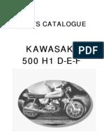 500 H1 D-E-F Parts List