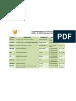 Disciplinas - 2ª Etapa 2012-1