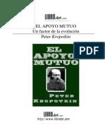 Kropotkin El Apoyo Mutuo