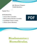 Bioelementos y Biomoléculas. OB