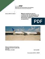 Pavimento Rigido en Aeropuertos