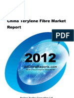 China Terylene Fibre Market Report
