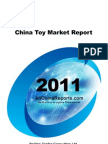 China Toy Market Report