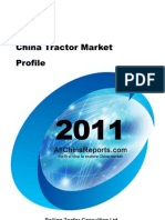 China Tractor Market Profile