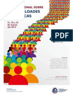Seminario Internacional sobre Desigualdades y Políticas
