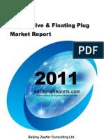 China Valve Floating Plug Market Report