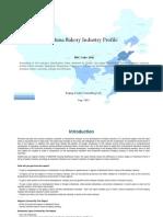 China Bakery Industry Profile Isic1541