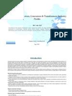 China Electric Motors Generators Transformers Industry Profile Isic3110