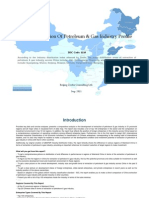 China Extraction of Petroleum Gas Industry Profile Isic1110