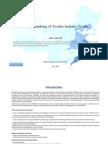 China Finishing of Textiles Industry Profile Isic1712