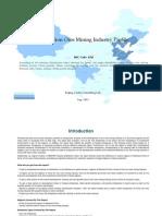 China Iron Ores Mining Industry Profile Isic1310