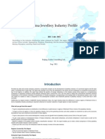 China Jewellery Industry Profile Isic3691