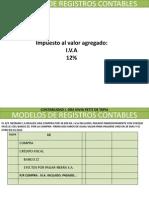 Modelos de Registros Contables