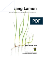 Rehabilitasi Padang Lamun o Akbar M Tahya