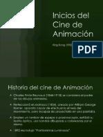 Inicios del Cine de Animación