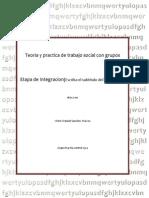 Teoria y Practica de Trabajo Social Con Grupos