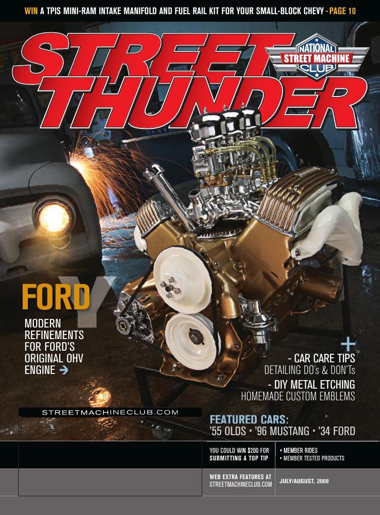 Street Thunder Y Block   Carburetor   Engines