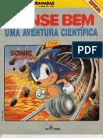 Pense Bem Aventura Cientifica Sonic