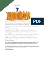 Caracteristicas de Un Lider Positivo y Exitoso