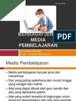 Berbagai Jenis Media Pembelajaran