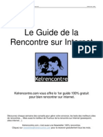 Le Guide de la Rencontre sur Internet - Kelrencontre