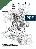 wheelhorse manual transmissions service manual gear. Black Bedroom Furniture Sets. Home Design Ideas