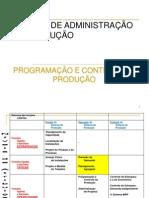 Unidade II - Programação e Controle da Produção - Planejamento Agregado da Produção (1)