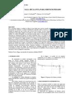 Analisis de Fallas de Soldadura de Filete