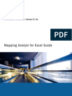 PC 910 Mapping Analyst for Excel En