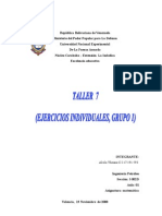 Taller 7 (Ejercicios Individuales Grupo 1)