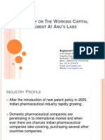 A Study on the Working Capital Management