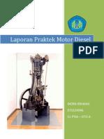 Laporan Praktek Motor Diesel