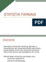 STATISTIK FARMASI