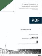 """Henri Duday - Antropología biológica """"de campo"""", tafonomía y arqueología de la muerte El Cuerpo Humano y Su Tratamiento Mourtuorio"""