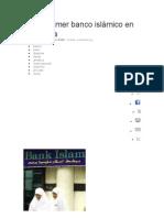 Abren primer banco islámico en Ginebra