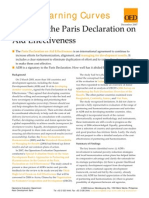 ADB and the Paris Declaration on Aid Effectiveness
