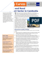 Agriculture and Rural Development Sector in Cambodia