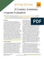 Bangladesh - Country Assistance Program Evaluation
