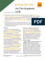 Managing for Development Results in ADB