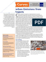 Reducing Carbon Emissions From Transport Projects