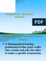 Marketing Decision Making 2009 Ppt @ Bec Doms Bagalkot Mba
