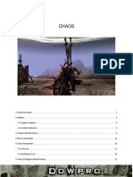 DoWpro Chaos Manual