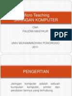 Micro Teaching Jarkom
