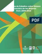 Programa de Estudios sobre Género y Derechos de las Mujeres